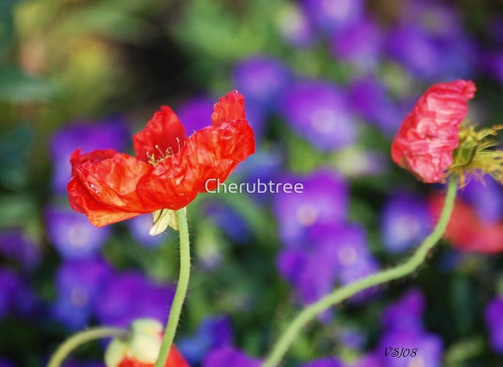 Melting in Violet by Cherubtree