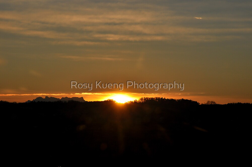 December Sunrise by Rosy Kueng Photography