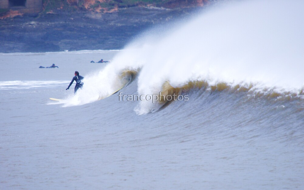 Curly Waves by Franco De Luca Calce