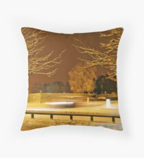 The Darkness of Light - Town Throw Pillow