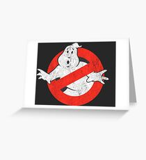 Ghostbusters Original Greeting Card