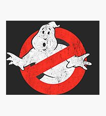 Ghostbusters Original Photographic Print
