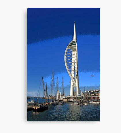The Spinnaker Tower, Portsmouth Canvas Print