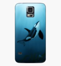 """The Dreamer"" by Amber Marine ~ (Copyright 2015) orca art / killer whale digital painting Case/Skin for Samsung Galaxy"