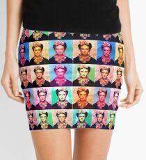 Frida pop art Mini Skirt