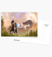 Die Legende von Zelda: Der Atem der Wildnis Postkarten