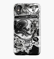 surreal pen and ink dream iPhone Case/Skin