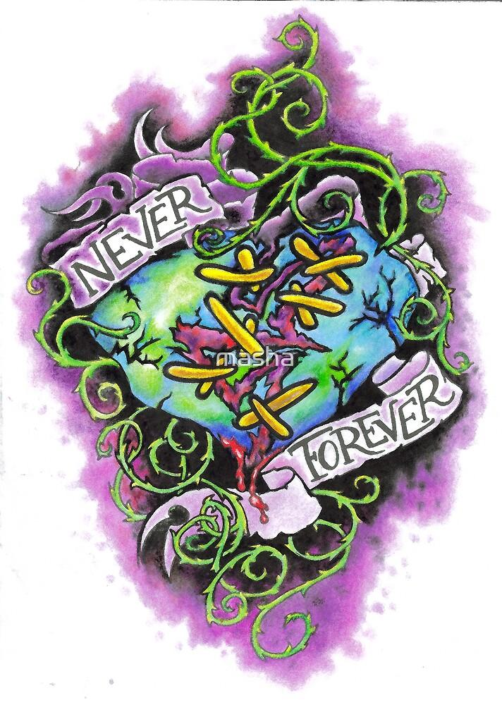 NEVER FOREVER by masha