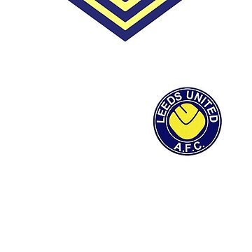 Leeds united retro kit by LauraWoollin