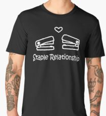 LATEST QY565 Staple Relationship Trending Men's Premium T-Shirt