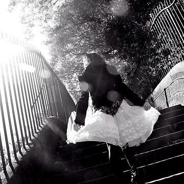 Black Stairway by rowanmacs
