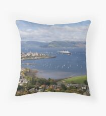 Final Return Throw Pillow