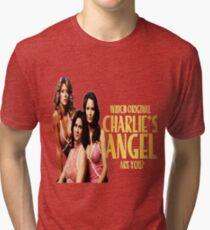 Charlies angels Tri-blend T-Shirt