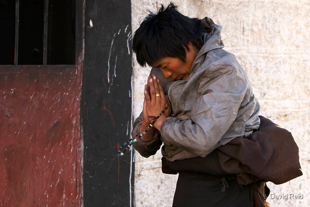 Prayer  by David Reid