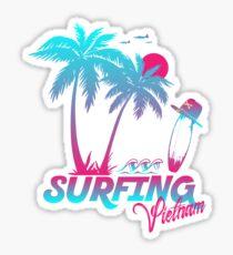 Surfing Vietnam Sticker