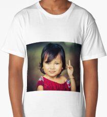 Cambodian girl Long T-Shirt