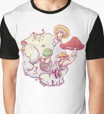 Skull No.1 // The Mushrooms One Graphic T-Shirt