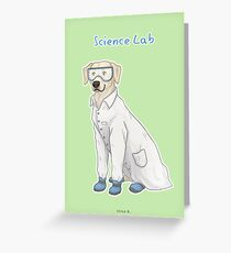 Science Lab Greeting Card