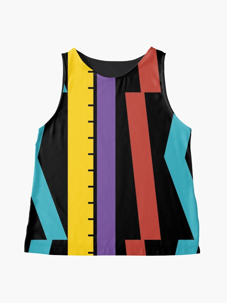 Alternate view of Test Strip Sleeveless Top