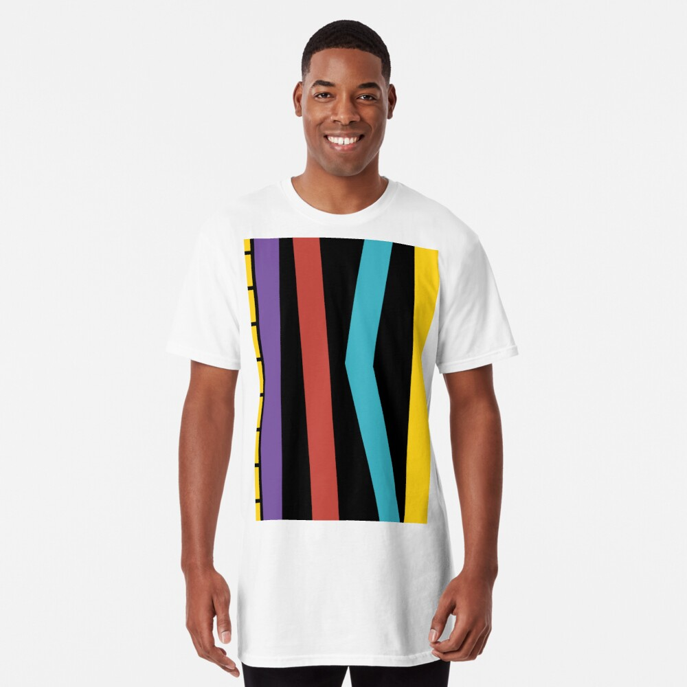 Test Strip Long T-Shirt