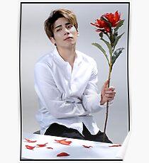 Jong Hyun Flower Poster