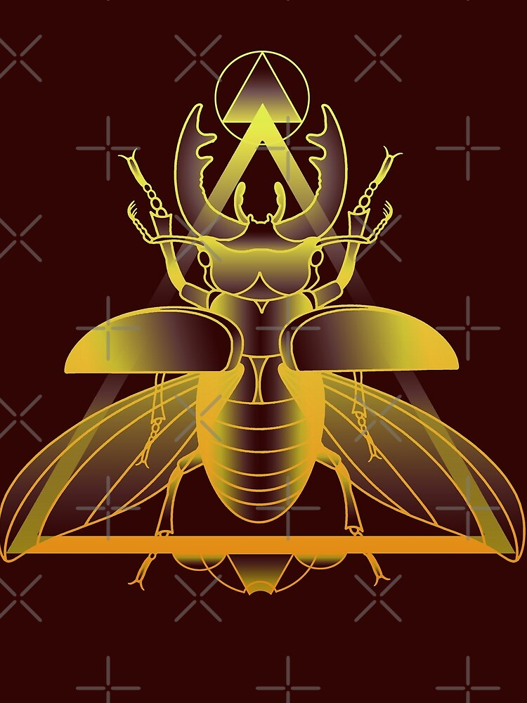 Stag Beetle (Golden) by Elisecv