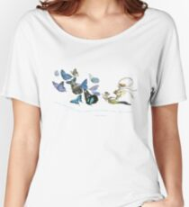 fairy song - blue Women's Relaxed Fit T-Shirt