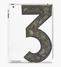 Number 3 iPad Case/Skin