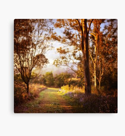 Morning is wonderful. Its only drawback is that it comes at such an inconvenient time of day. Canvas Print