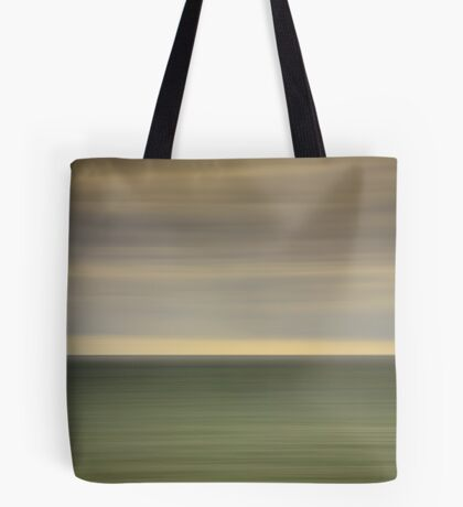 Angry sky and dark and moody waters.... Tote Bag