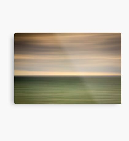 Angry sky and dark and moody waters.... Metal Print