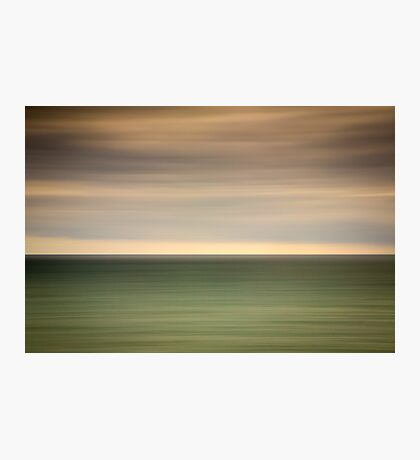 Angry sky and dark and moody waters.... Photographic Print