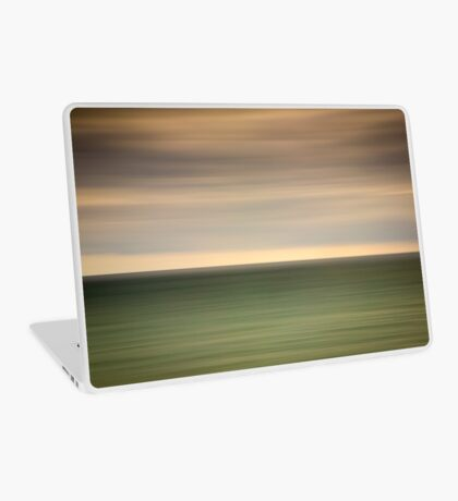 Angry sky and dark and moody waters.... Laptop Skin