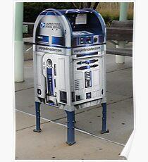 R2D2 Mailbox Poster