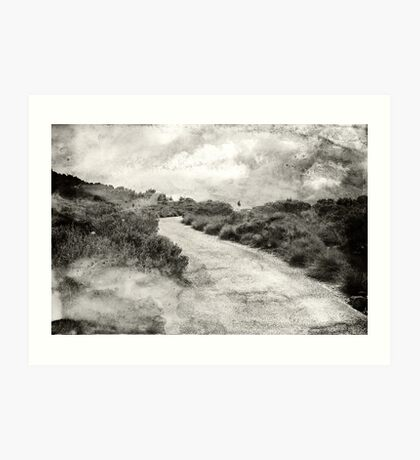 Even if you're on the right track, you'll get run over if you just sit there.... Art Print