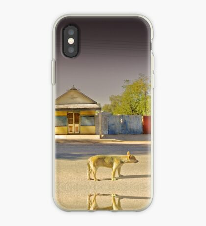 The Last to Leave iPhone Case