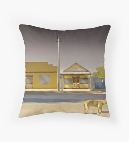 The Last to Leave Throw Pillow