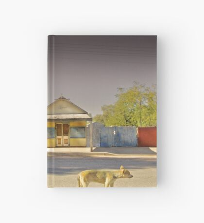 The Last to Leave Hardcover Journal