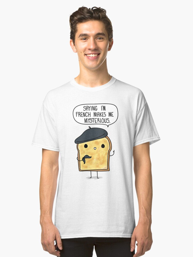 French Toast Classic T-Shirt Front