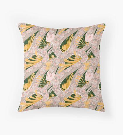 Repeating Snake Floor Pillow