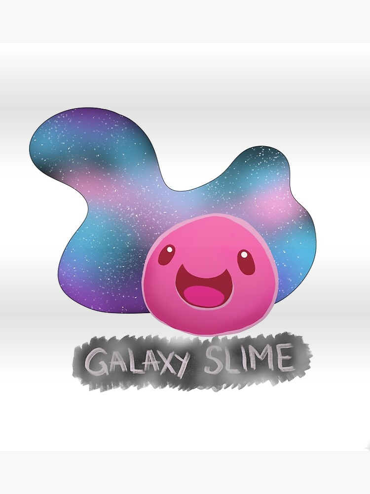 Slime galaxy. Poster