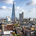 City View of the Shard by Kasia-D