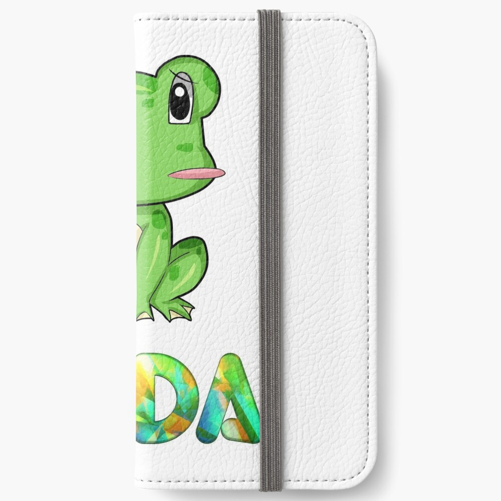 Frosch Frida iPhone Flip-Case