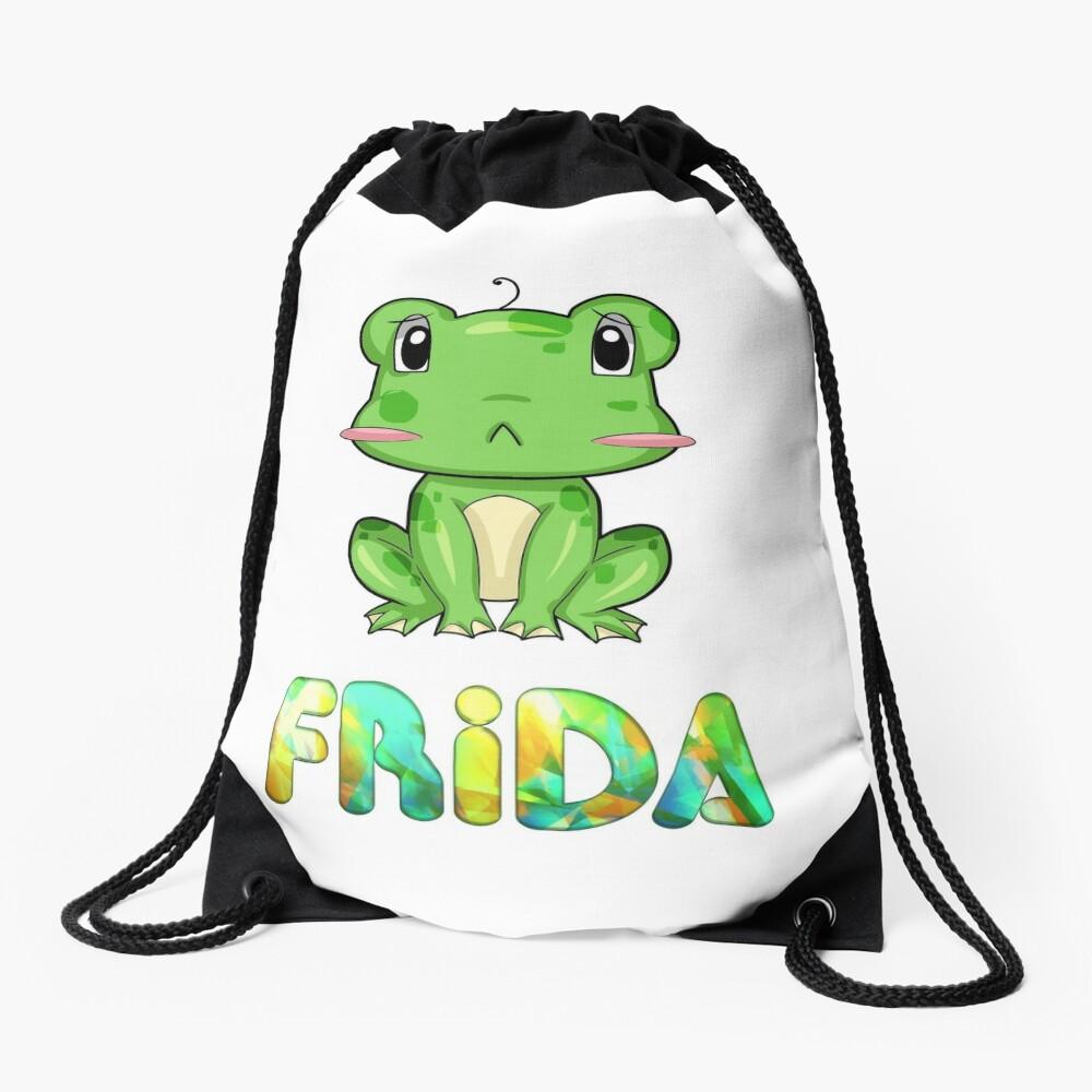 Frosch Frida Turnbeutel