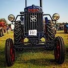 Im a happy tractor by Simon Duckworth