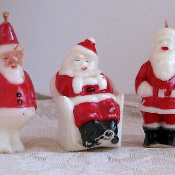 Christmas Candles Santa Claus by collageDP