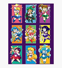 Senshi Blocks Photographic Print