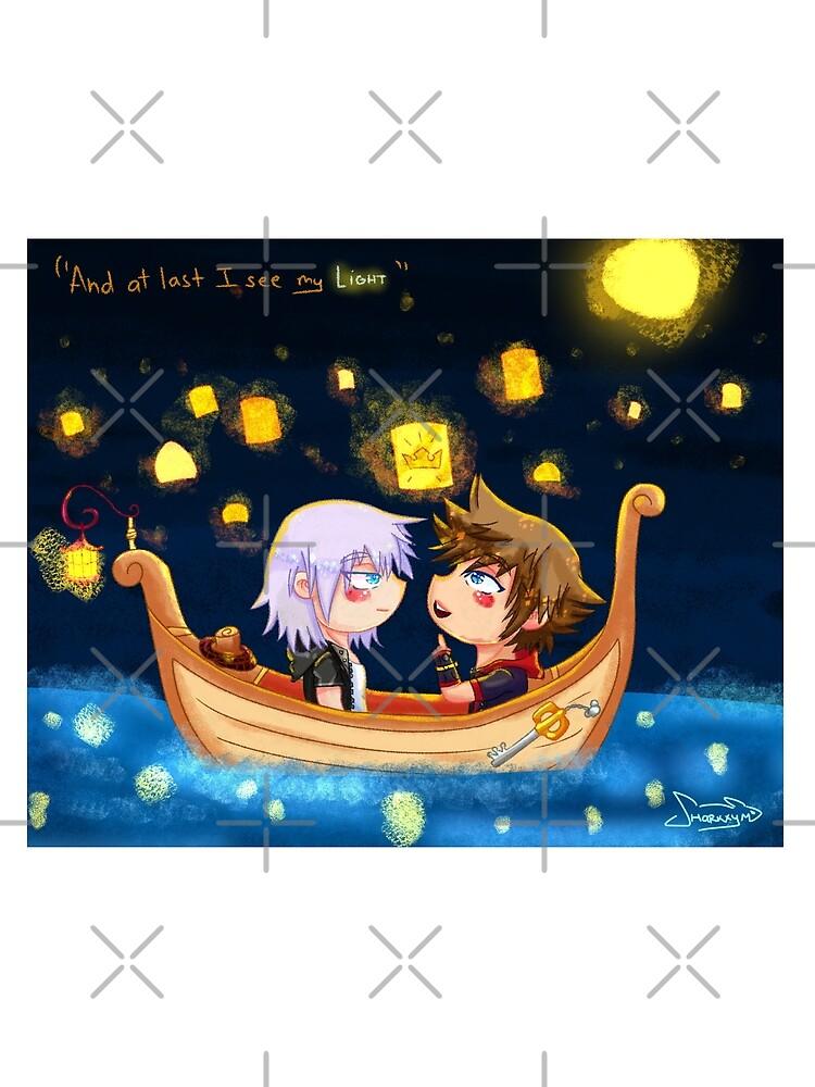 "At last I see my ""Light"" - Riku+Sora Kingdom Hearts by SHaRKxym"