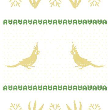 Merry Birbmas  by Gattonynan