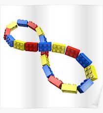 Toy Brick Infinity Poster